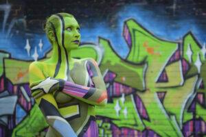 Bodypaintingmodell: Fee / Fotograf: Thorsten Ohmacht