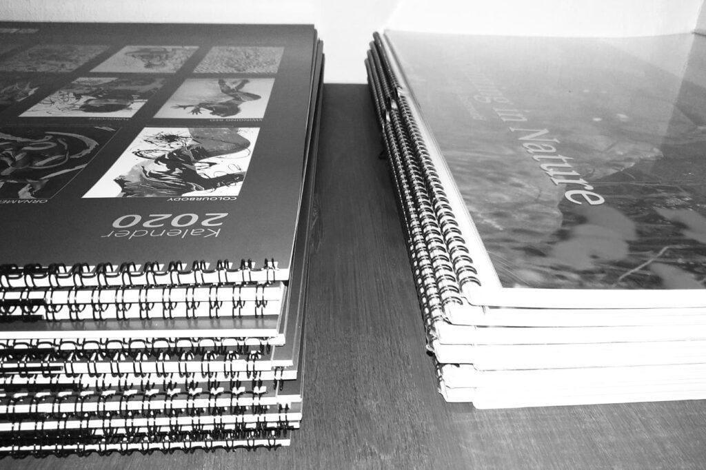 Künstler Jörg Düsterwald veröffentlicht jedes Jahr exklusive Premium Bodypaintingkalender. Mittlerweile sind einige der Auflagen der Kalender ausverkauft und zu begehrten Sammlerstücken geworden.